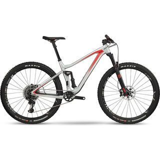 BMC Speedfox 01 One 29 2018, silver red - Mountainbike