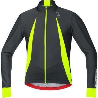 Gore Bike Wear Oxygen Windstopper Trikot Lang, black neon yellow - Radtrikot