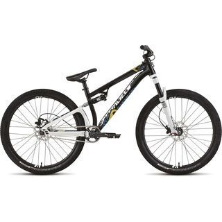Specialized P. Slope 2015, Gloss Black/White/Cyan/Gold - Mountainbike
