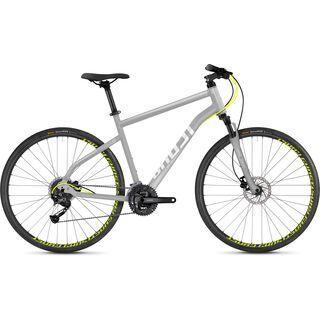 Ghost Square Cross 1.8 AL 2018, silver/neon yellow - Fitnessbike