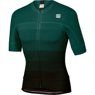 Sportful BodyFit Pro Evo Jersey, black/moss - Radtrikot