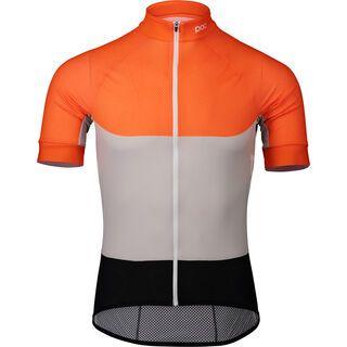POC Essential Road Light Jersey granite grey/zink orange