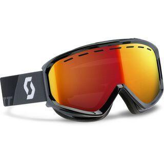 Scott Level, black/red chrome - Skibrille