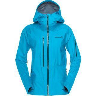 Norrona lofoten Gore-Tex Active Jacket, caribbean blue - Skijacke