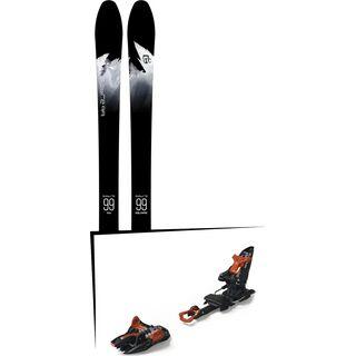 Set: Icelantic Sabre 99 2018 + Marker Kingpin 10 black/copper