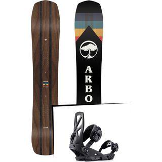 Set: Arbor A-Frame 2019 + Ride Capo black