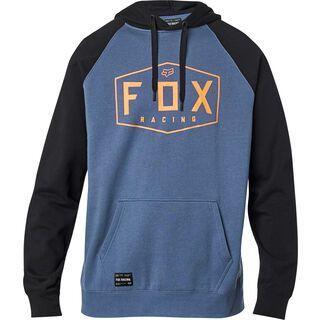 Fox Crest Pullover Fleece blue steel