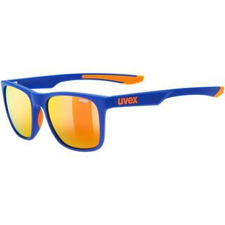 uvex lgl 42, blue orange mat/Lens: mirror red - Sonnenbrille