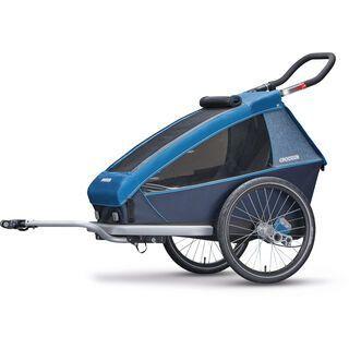 Croozer Kid Plus for 1 2018, ocean blue - Fahrradanhänger