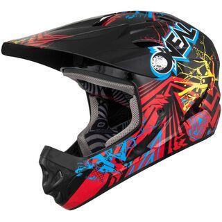 ONeal Fury Fidlock DH Helmet Mayhem ROOTS, Rot/Schwarz - Fahrradhelm