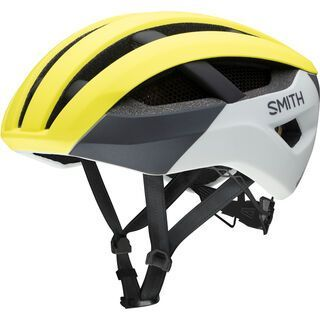 Smith Network MIPS, matte neon yellow viz - Fahrradhelm