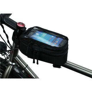 NC-17 Connect Smartphone Tasche für Oberrohr, black - Rahmentasche