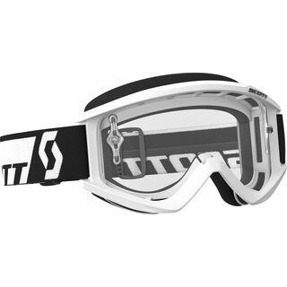 Scott Goggle Recoil Xi, white/Lens: clear - MX Brille