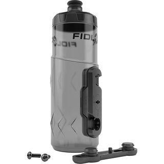 Fidlock Bottle Twist, transparent black - Trinkflasche