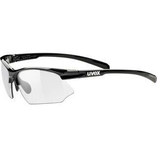 uvex sportstyle 802 v, black/Lens: variomatic smoke - Sportbrille