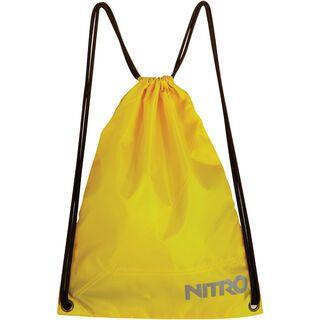 Nitro Sports Sack, lime - Turnbeutel