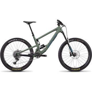 Santa Cruz Bronson CC X01 2020, olive/blue - Mountainbike