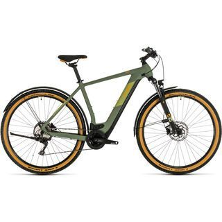 Cube Cross Hybrid Pro Allroad 625 2020, green´n´orange - E-Bike