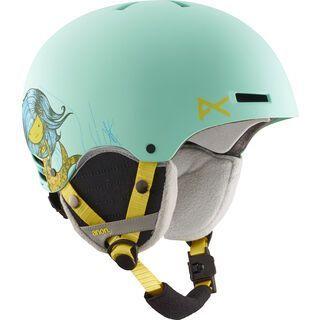Anon Rime, mermaid - Snowboardhelm