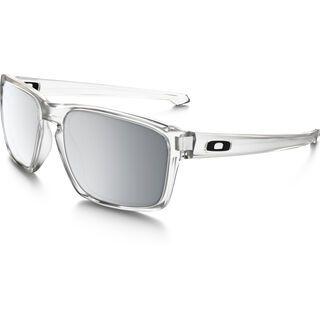 Oakley Sliver Urban Jungle, matte clear/Lens: chrome iridium - Sonnenbrille