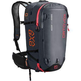 Ortovox Ascent 38 S Avabag Kit, ohne Kartusche black anthracite
