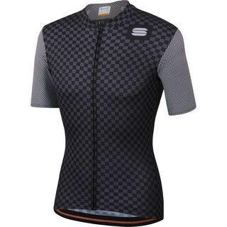 Sportful Checkmate Jersey, black/anthracite - Radtrikot