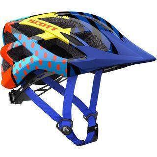 Scott Spunto Helmet, pop blue - Fahrradhelm