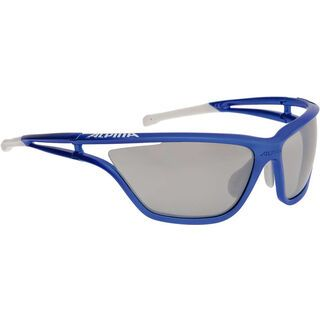 Alpina Alpina Eye-5 CM+, blue matt-white/black mirror - Sportbrille