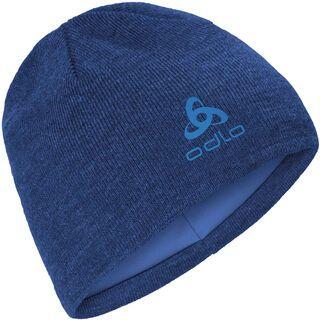 Odlo Hat Ceramiwarm Mid Gage, estate blue melange - Mütze
