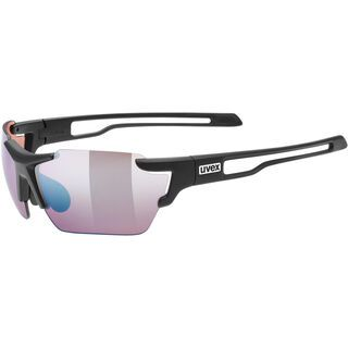 uvex sportstyle 803 cv small, black mat/Lens: colorvision litemirror outdoor blue mirror - Sportbrille