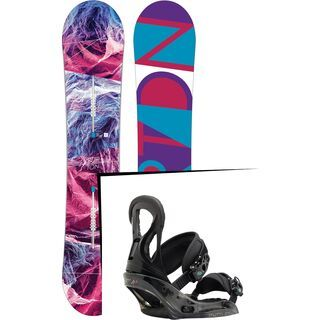 Set: Burton Feelgood 2017 +  Stiletto EST (1712942S)