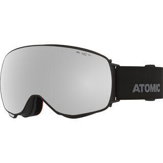Atomic Revent Q HD inkl. WS, black/Lens: silver hd - Skibrille