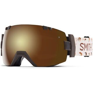 Smith I/Ox + Spare Lens, root fish on/gold sol-x mirror - Skibrille