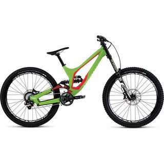 Specialized Demo 8 FSR I 650b 2017, green/red/white - Mountainbike