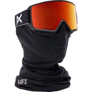 Anon M3 MFI + Spare Lens, black/red solex - Skibrille
