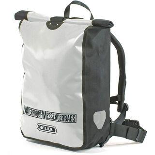 Ortlieb Kuriertasche, silber-schwarz - Messenger Bag