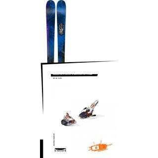 Set: K2 Sight 2016 + Marker Jester 16 09/10, White/Copper - Skiset