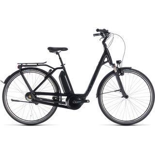 Cube Town Hybrid Pro RT 400 Easy Entry 2018, black´n´grey - E-Bike