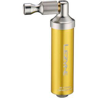Lezyne Alloy Drive CO2, gold - CO2 Pumpe