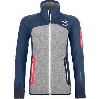 Ortovox Merino Fleece Plus Jacket W, night blue - Fleecejacke