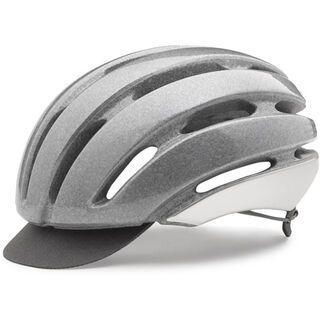 Giro Ash, transparent pearl silver - Fahrradhelm