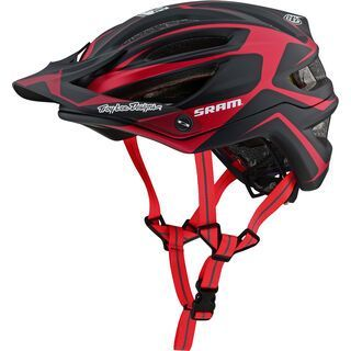 TroyLee Designs A2 Dropout Helmet SRAM Edition MIPS, red - Fahrradhelm