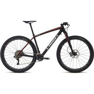 Specialized S-Works Epic HT Carbon Di2 29 2017, carbon/white/red - Mountainbike