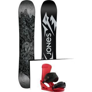 Set: Jones Ultra Mountain Twin 2019 + Burton Custom (1930939S)