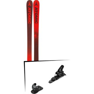 Set: Atomic Punx Five 2019 + Salomon Warden MNC 11 black