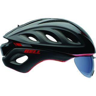 Bell Star Pro Shield, black/red marker - Fahrradhelm