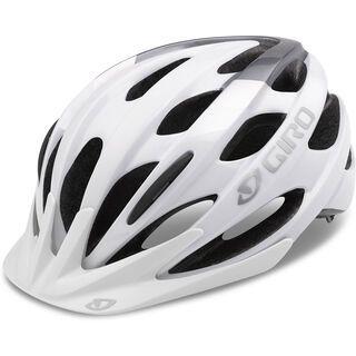 Giro Raze, white silver - Fahrradhelm