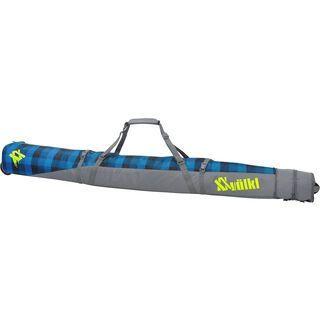 Völkl Free Double Ski Wheel Bag, denim check - Skitasche