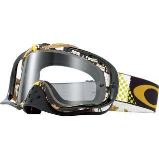 Oakley Crowbar MX, mosh pit gold/clear - MX Brille