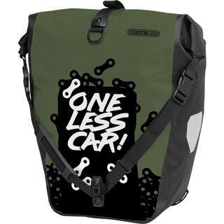 Ortlieb Back-Roller Design One Less Car, olive-black - Fahrradtasche